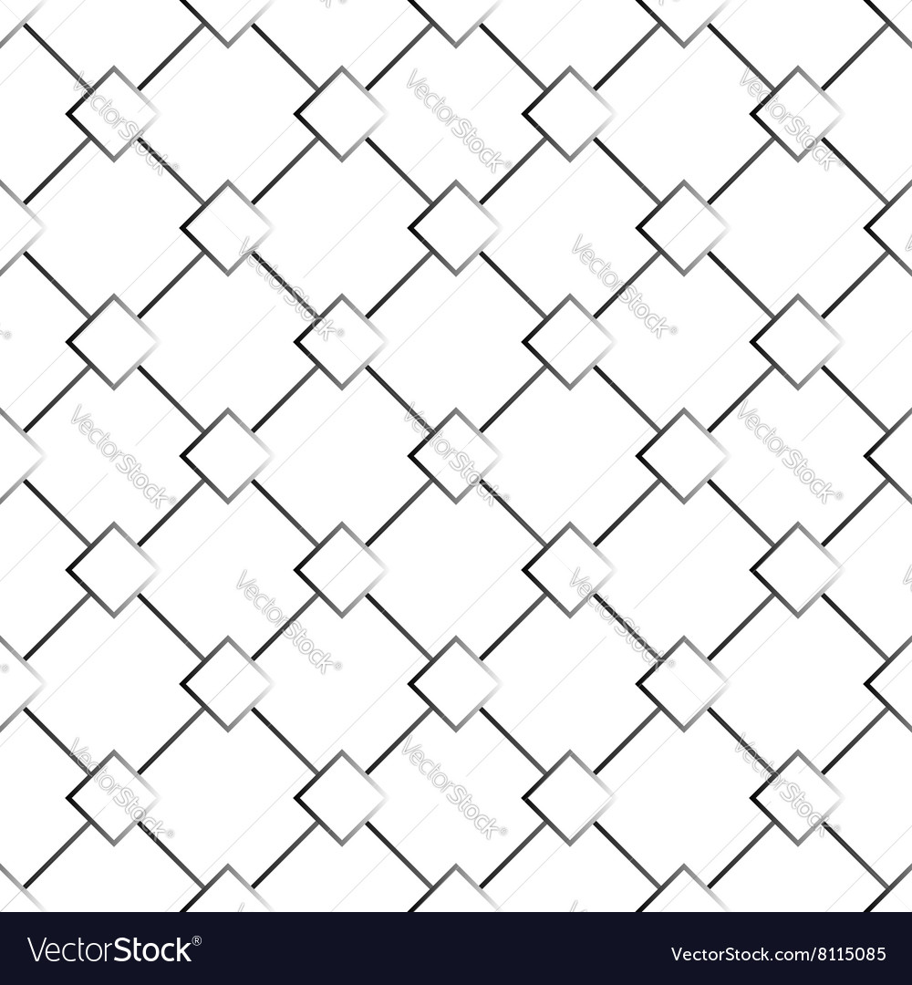 Black and white abstract seamless texture pattern vector