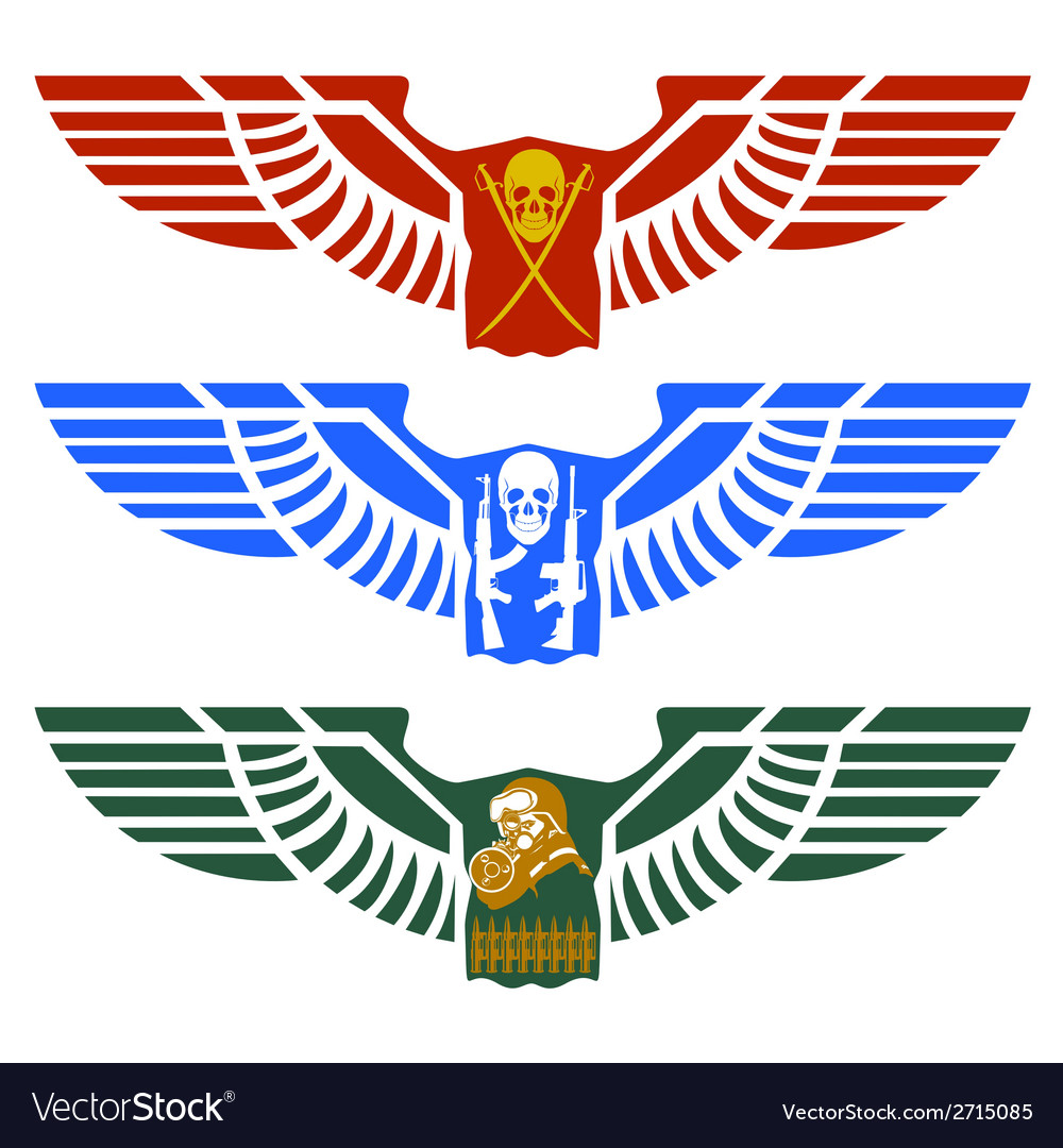 Military icon vector