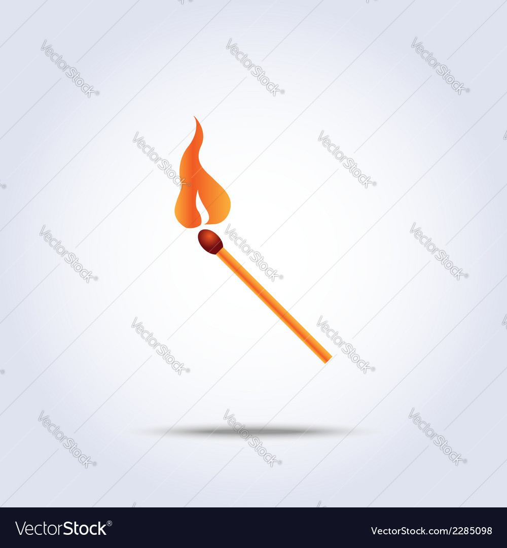 Match icon vector