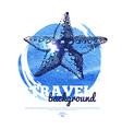 Travel vintage banner vector image vector image