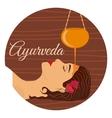 Ayurveda ayurvedic treatment vector image
