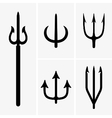 Tridents vector image