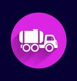 truck auto barrel icon button logo symbol concept vector image