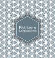 pattern background 2906 vector image vector image