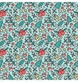 Hand Drawn Christmas Seamless Pattern New Year vector image