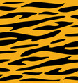tiger skin animal texture wallpaper vector image
