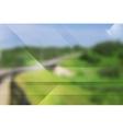 Abstract tech design Gradient mesh vector image vector image