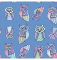 Decorative Hand dravn Cute Owl Sketch Doodle on vector image