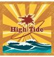 Surfers Emblem vector image
