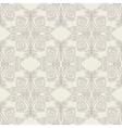 Beige baroque pattern vector image