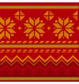 christmas stitch vector image