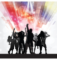 party people background 1009 vector image vector image