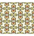Antique ottoman turkish pattern design thirty two vector image