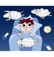 Sleeplessness vector image