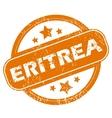 Eritrea grunge icon vector image