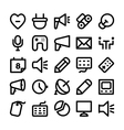 Communication Icons 11 vector image