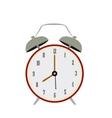 Isolated retro alarm clock vector image