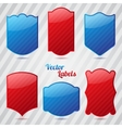 Set of Vintage Labels and Stickers vector image
