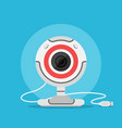 web camera icon vector image