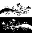 Floral decorations vector image vector image