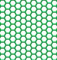 Hexagonal net vector image