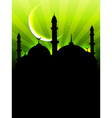eid ul fitar background vector image