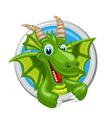 Dragon Capricorn Zodiak sign vector image