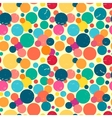 Seamless pattern with grunge dots vector image