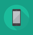 Technology Flat Icon Smart Phone vector image