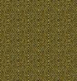 Golden seamless rhombuses pattern vector image