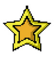 videogame pixel icon image vector image