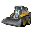 skid loader vector image