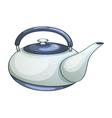Ceramic teapot vector image