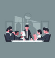 business meeting in office vector image
