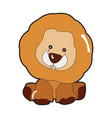 isolated lion toy vector image