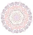 mandala vintage oriental pattern vector image