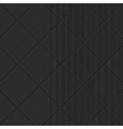 Black diagonal textured pattern vector image vector image