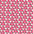 clustered mod rose pattern vector image