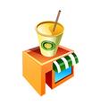 icon offee shop icon vector image vector image