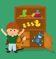 Toys design vector image