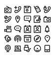 Communication Icons 9 vector image
