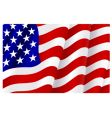 flag of united states of America vector image vector image