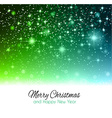 ChristmasBackgroundfgreen vector image vector image