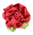 Flower Made from Fabric vector image vector image