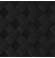 Black diagonal wicker pattern vector image vector image