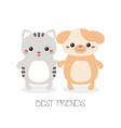 best friend forever best friend forever vector image