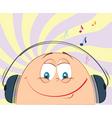 cartoon music vector image