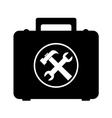 storage box handtools vector image vector image