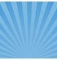 Burst blue background vector image