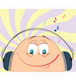 cartoon music vector image
